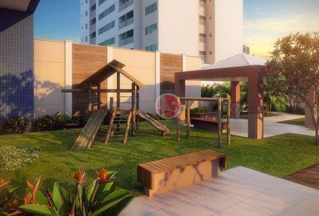 Apartamento com 2 dormitórios à venda, 56 m² por R$ 500.000,00 - Benfica - Fortaleza/CE - Foto 6