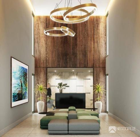 Apartamento com 1 dormitório à venda, 35 m² por R$ 230.000,00 - Bancários - João Pessoa/PB - Foto 2