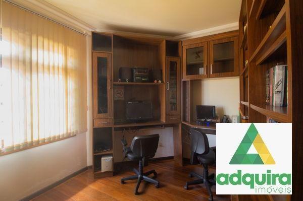 Casa sobrado com 4 quartos - Bairro Jardim Carvalho em Ponta Grossa - Foto 10