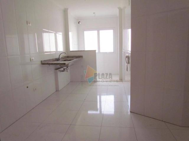 Apartamento para alugar, 100 m² por R$ 3.000,00/mês - Canto do Forte - Praia Grande/SP - Foto 17