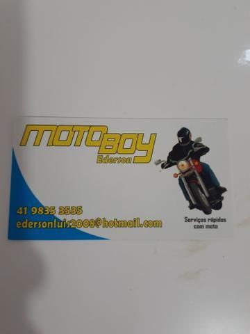 Motoboy suas entregas em boas mãos!!