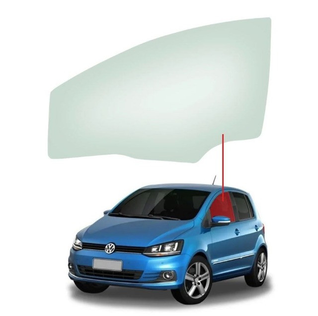 Vidro Porta Dianteira Esquerda Volkswagen Fox 03/16 Saint Gobain