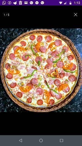 pizzas o rei com sabor do reino