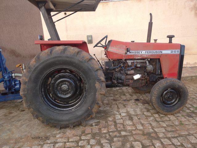 Trator Massey Ferguson 265 vendo e troco por - Foto 2