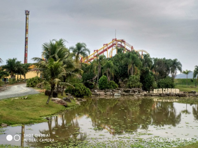 AP 6 com Bela Vista do Beto Carrero World em Penha SC  - Foto 17