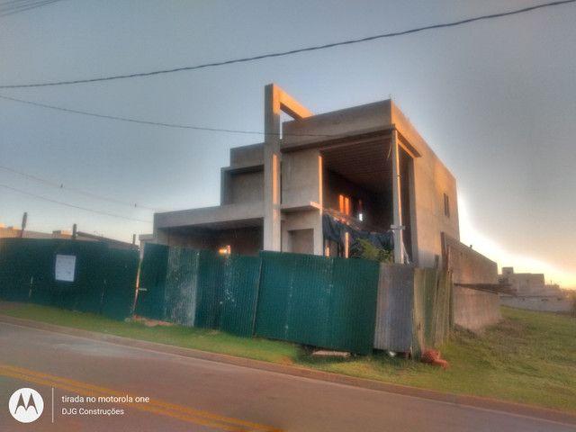 Empreiteira -construa sua casa modelo turnkey (chave na mão) alto/médio padrão - Foto 2