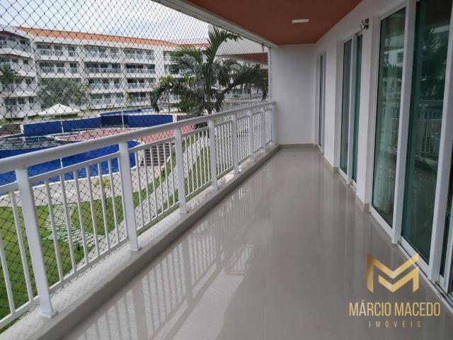 Apartamento com 3 quartos à venda por R$ 460.000 - Porto das Dunas - Aquiraz/CE - Foto 6