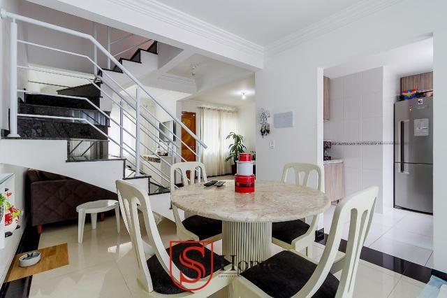 Sobrado triplex 3 quartos e 2 vagas para aluguel no Boqueirão em Curitiba - Foto 6