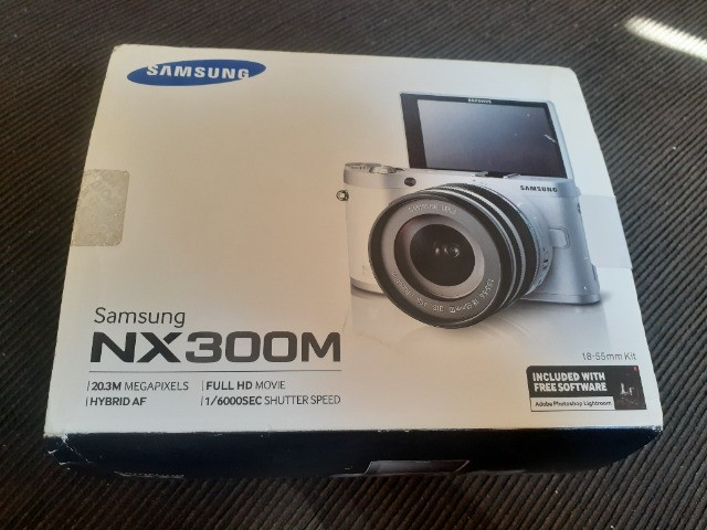 Máquina fotográfica Samsung nx 300m - Foto 3