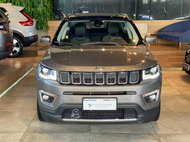 Jeep Compass Limited 2.0 Automático Flex C Teto e High Tech 2019 - Foto 2