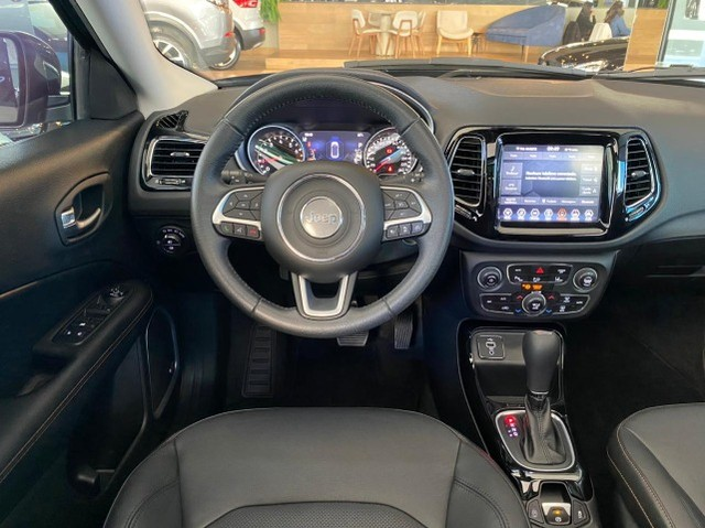 Jeep Compass Limited 2.0 Automático Flex C Teto e High Tech 2019 - Foto 11