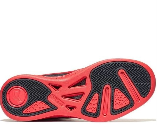 Tênis de Basquete Unissex Q4 Sports Millennium - Vermelho - Foto 3