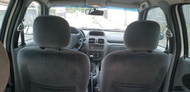 Renault Clio Previlege 1.0 16v completo no GNV - Foto 9
