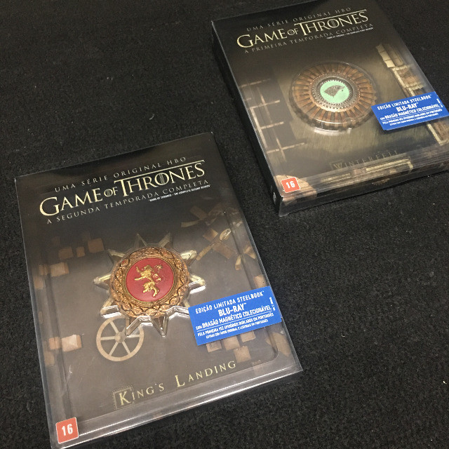 Box blu-ray Game of Thrones