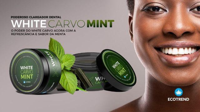White Carvo Mint e Natural - Seus Dentes Muito Mais Brancos