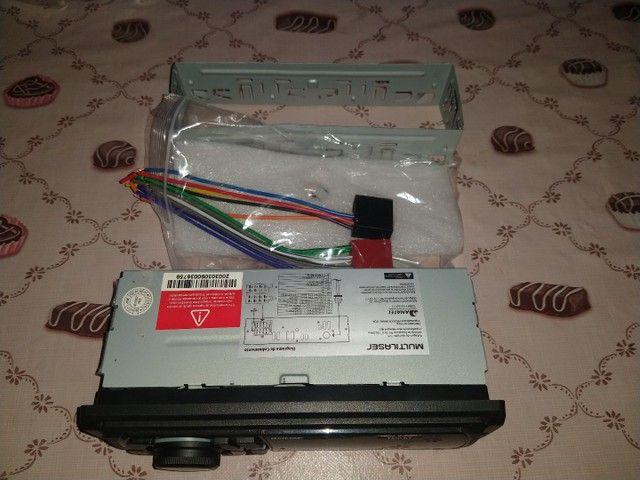 Rádio Multilaser, bluetooth, USB, P2, e cartão  - Foto 6
