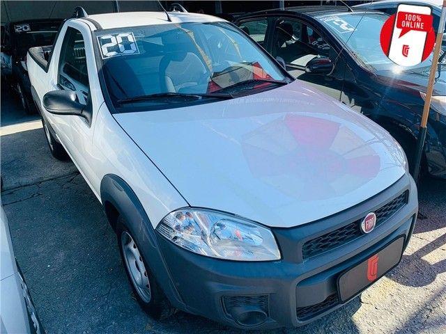 Fiat Strada 2020 1.4 mpi hard working ce 8v flex 2p manual - Foto 3