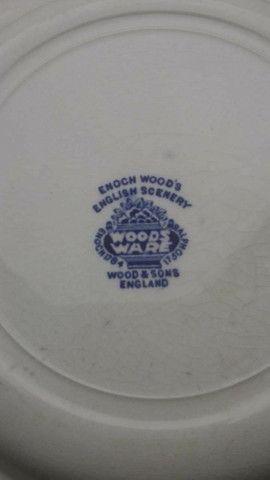 Peças De Jantar, Porcelana Inglesa importada, Original Wood & Sons