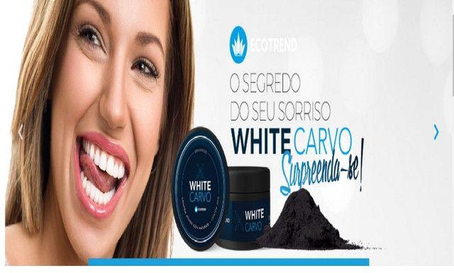 White Carvo Mint e Natural - Seus Dentes Muito Mais Brancos - Foto 4