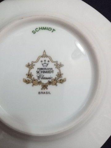Conjunto de porcelana Schmidt para cafezinho.<br> - Foto 6