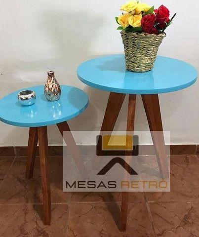 MESAS RETRÔ ARTESANAL - Foto 3