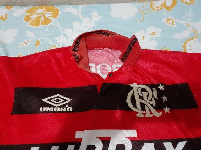 Flamengo antiga da Umbro só para venda tamanho P - Foto 3