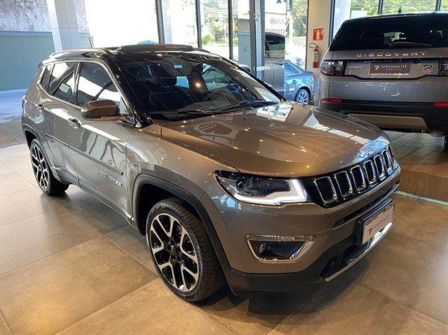 Jeep Compass Limited 2.0 Automático Flex C Teto e High Tech 2019 - Foto 3