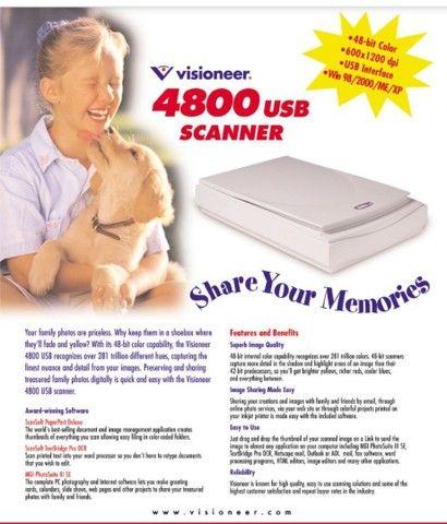 Vendo scanner visioneer store pouco usado - Foto 2