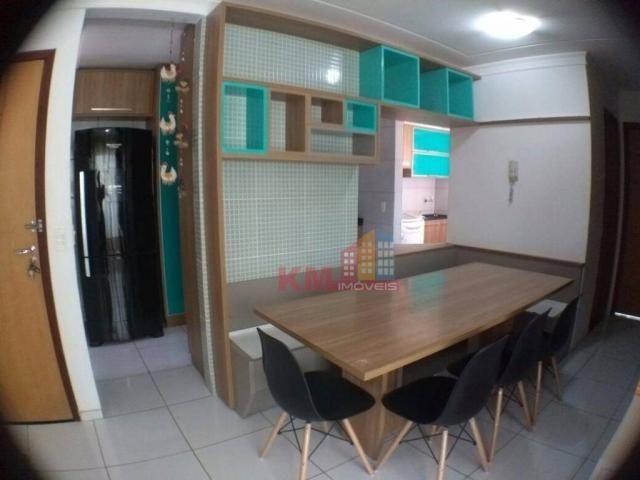 Vende-se lindo apartamento semi-mobiliado
