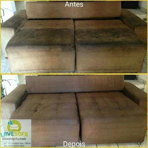 Lave sofá lavagem a seco Cuiabá e vg 98126-5666