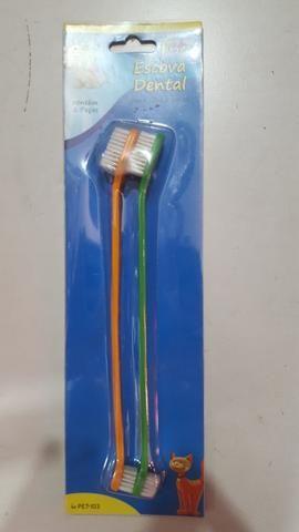 Escova dental cachorro