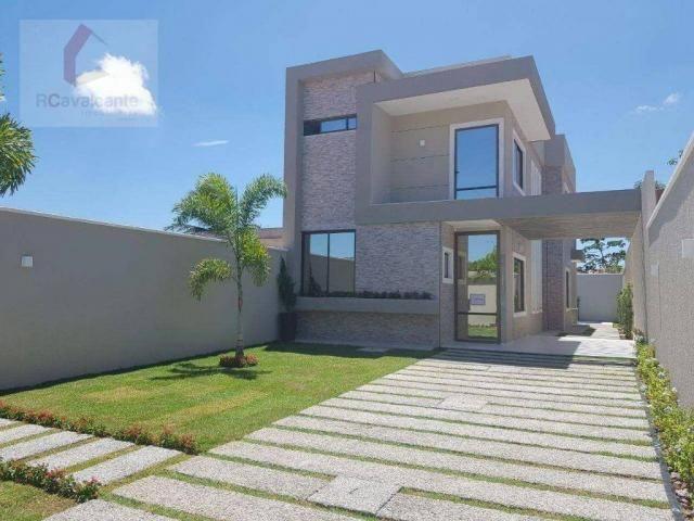 Casa com 4 dormitórios à venda, 152 m² por R$ 569.000,00 - Eusébio - Eusébio/CE