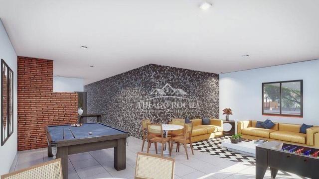 Cobertura duplex com 2 dormitórios à venda, 102 m² por r$ 440.000 - centro - são josé dos  - Foto 8