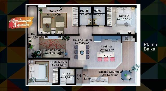 Vendo Fort do Farol Apartamento em Condomínio na Praia Salinópolis-PA - Foto 19