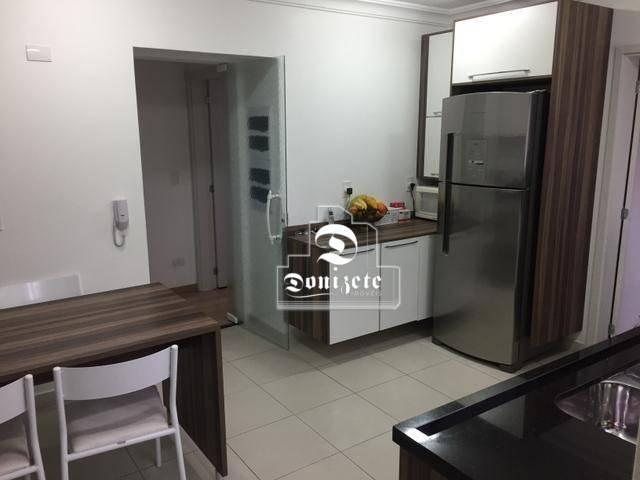 Apartamento com 4 dormitórios à venda, 165 m² por r$ 1.300.000 - bairro jardim - santo and - Foto 12