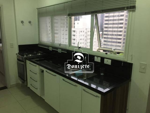 Apartamento com 4 dormitórios à venda, 165 m² por r$ 1.300.000 - bairro jardim - santo and - Foto 9
