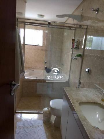Sobrado com 4 dormitórios à venda, 427 m² por r$ 1.690.000,01 - campestre - santo andré/sp - Foto 16
