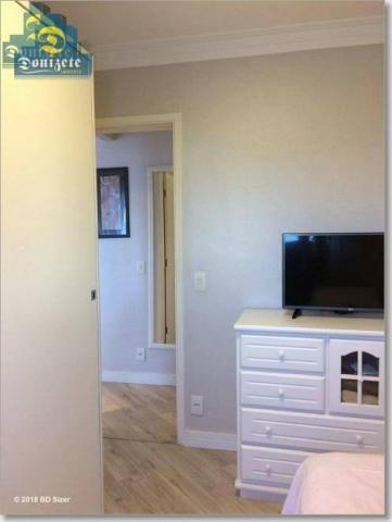 Apartamento com 3 dormitórios à venda, 89 m² por r$ 590.000,10 - cerâmica - são caetano do - Foto 15