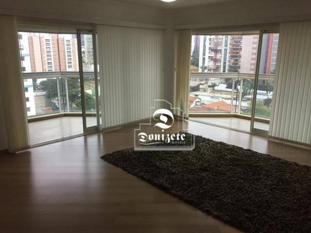 Apartamento com 4 dormitórios à venda, 165 m² por r$ 1.300.000 - bairro jardim - santo and - Foto 6