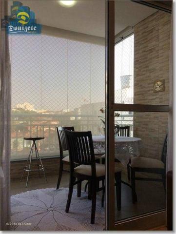 Apartamento com 3 dormitórios à venda, 89 m² por r$ 590.000,10 - cerâmica - são caetano do - Foto 6