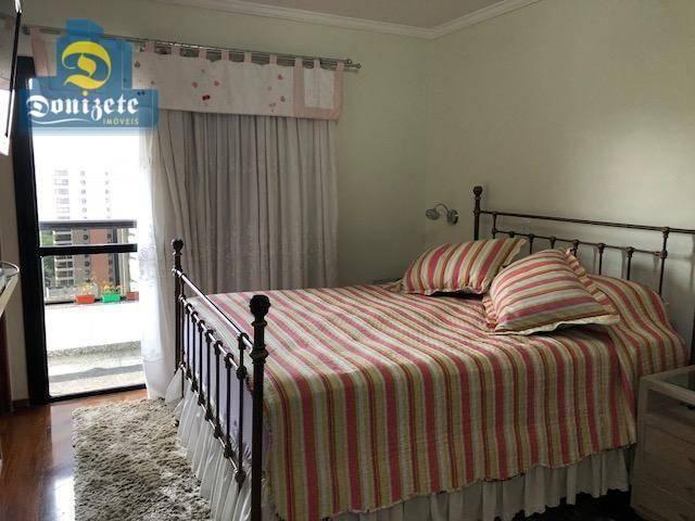 Apartamento com 3 dormitórios à venda, 150 m² por r$ 550.000,01 - vila bastos - santo andr - Foto 19