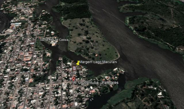 Lindo terreno 4.500m² na margem do Lago do Macurani Parintins - Foto 2