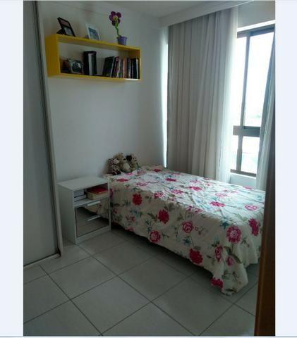 Apartamento 105m, 3/4, 2 vagas, andar alto, Capim Macio, Natal, RN - Foto 5