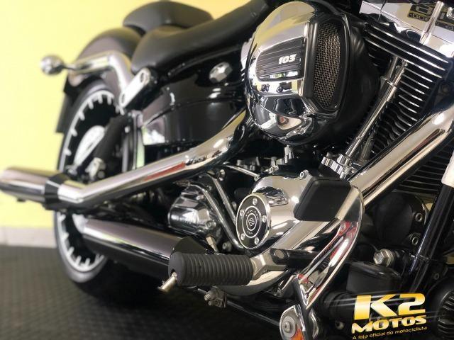 Custom Harley-davidson Softail Fsxb breakout 1700cc Top de Linha, Emplacada  - 2017