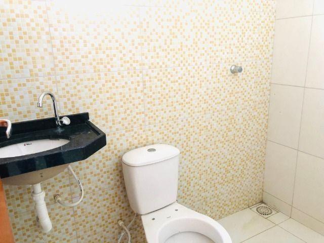 WS casa nova com 2 quartos,2 banheiros,varandao,coz.americana,quintal - Foto 9