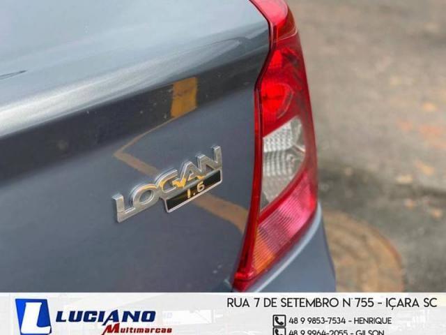 Renault LOGAN Expression Hi-Flex 1.6  - Foto 11