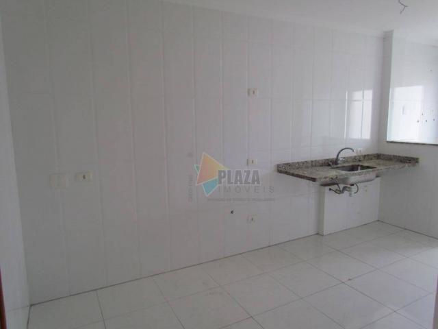 Apartamento para alugar, 100 m² por R$ 3.000,00/mês - Canto do Forte - Praia Grande/SP - Foto 5