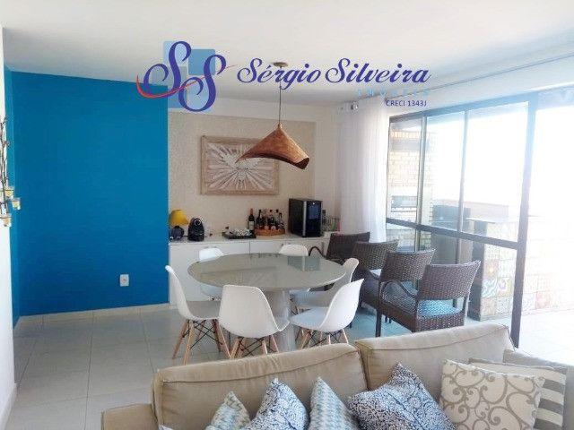 Cobertura duplex mobiliada no Mediterranée Residence no Porto das Dunas com 3 suítes - Foto 3