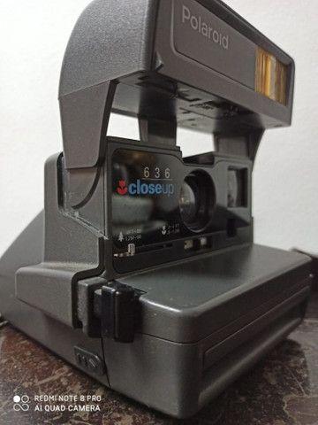 Camera fotográfica Polaroide antiga máquina no estado - Foto 4