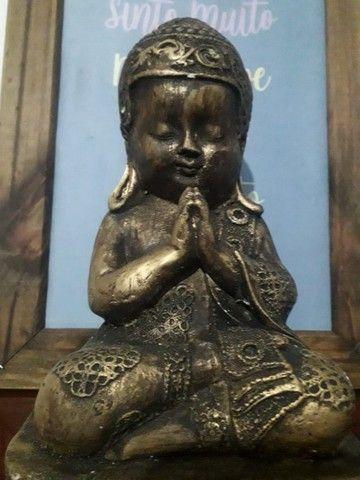 Lindo Buda Tibetano Cura do Lar - Foto 3